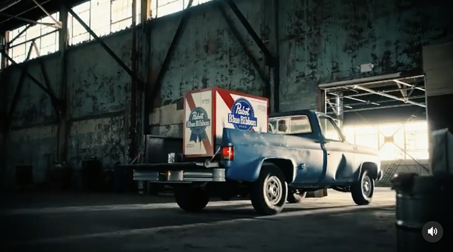 For the nation's 245th birthday, Pabst has introduced a massive 1,776-pack of PBR. - INSTAGRAM / PABSTBLUERIBBON
