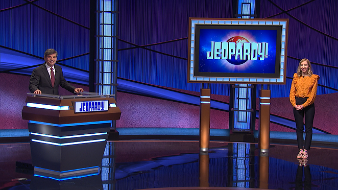 Tuesday's episode of Jeopardy features a contestant who's originally from San Antonio. - COURTESY OF JEOPARDY PRODUCTIONS, INC.