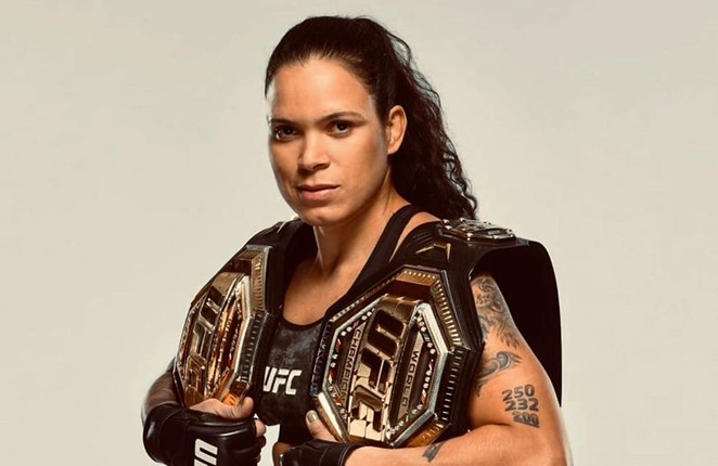 Amanda Nunes is one of the fighters on the card at Houston's UFC265 event. - INSTAGRAM / AMANDA_LEOA