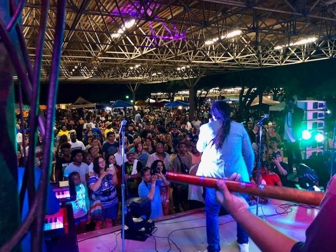 A live band entertains the crowd at a previous San Antonio Reggae Festival. - COURTESY PHOTO / SAN ANTONIO REGGAE FESTIVAL