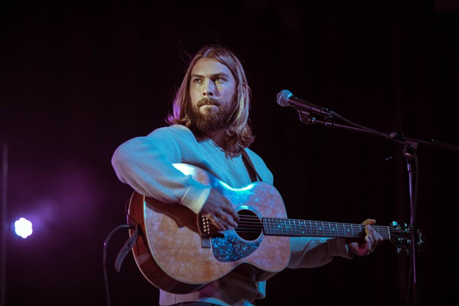 Singer-songwriter Cooper Greenberg hits up the Rustic on Thursday. - COURTESY OF COOPER GREENBERG