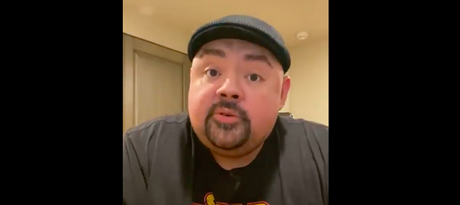 Gabriel Iglesias discusses his COVID-19 diagnosis during a video shared on Twitter. - SCREEN CAPTURE / @FLUFFYGUY