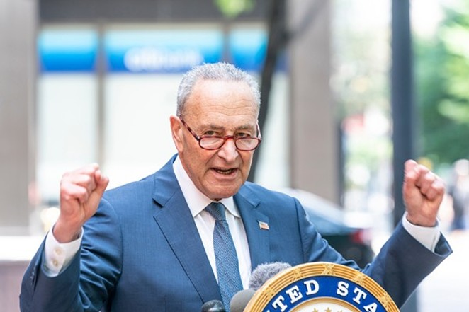 On Wednesday, U.S. Sen. Chuck Schumer introduced the Cannabis Administration and Opportunity Act. - SHUTTERSTOCK / LEV RADIN