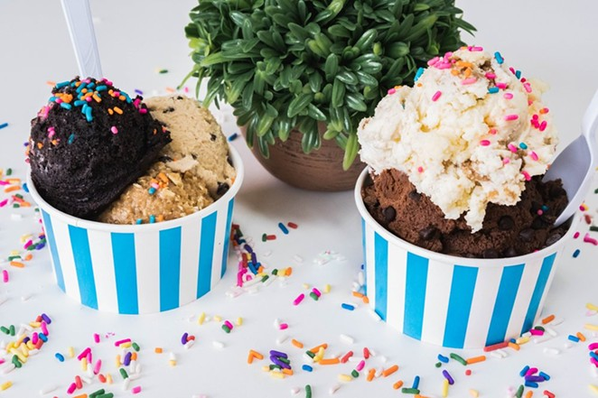 Viva La Dough serves up scrumptious edible cookie dough that's great frozen. - YELP / STEVEN M.