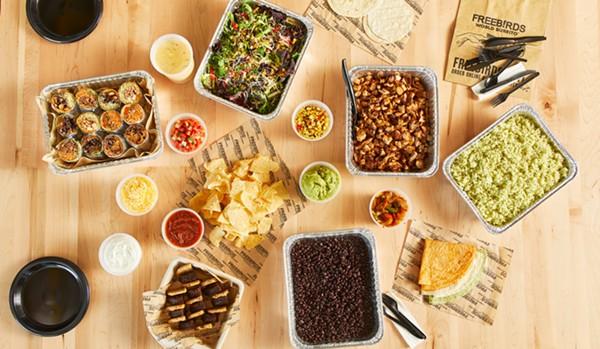 Freebirds World Burrito will give away free guac Saturday. - PHOTO COURTESY FREEBIRDS WORLD BURRITO