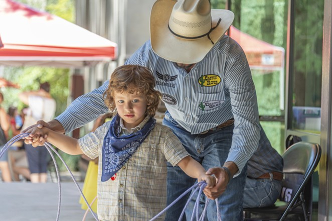 Locals can learn cowboy history at the Briscoe's event commemorating National Day of the Cowboy. - COURTESY OF BRISCOE WESTERN ART MUSEUM