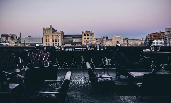 San Antonio rooftop bar Paramour teases plans to change its name to Apothecary. - INSTAGRAM / PARAMOURBAR