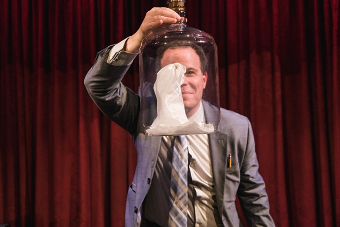 Comedy magician Matt Marcy is putting on the ritz at The Magicians Agency this weekend. - COURTESY OF MAGICIANS AGENCY THEATRE