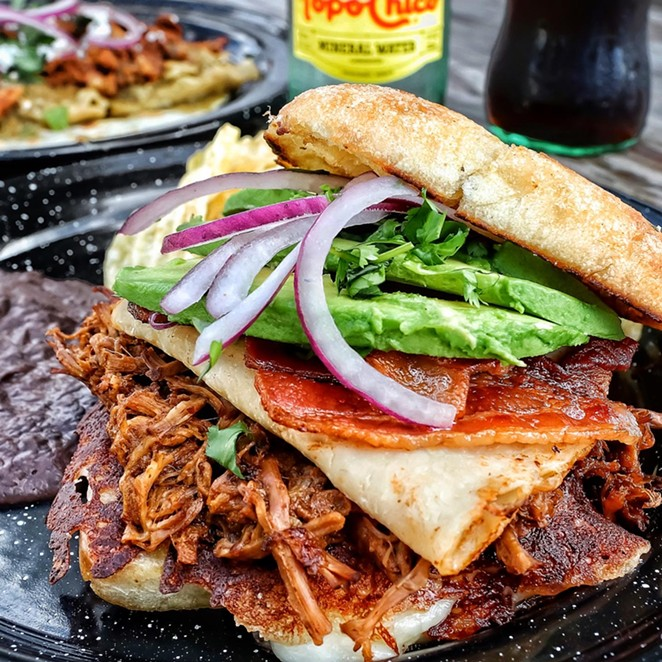 Naco Mexican Eatery serves up Mexican plates, tacos, tortas and chilaquiles. - PHOTO COURTESY NACO MEXICAN EATERY