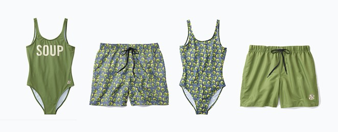 Panera Bread has launched a line of suits inspired by their broccoli and cheddar soup. - PHOTO COURTESY PANERA BREAD
