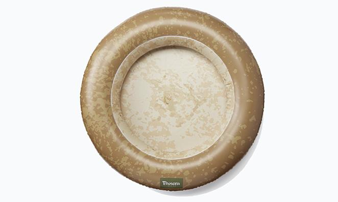 Panera Bread has launched a bread bowl pool float. - PHOTO COURTESY PANERA BREAD