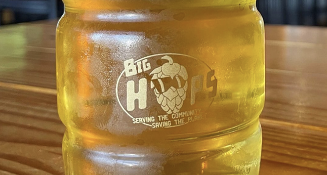 Craft beer chain Big Hops will start slinging suds on SA's west side this fall. - INSTAGRAM / BIGHOPSSHAENFIELD