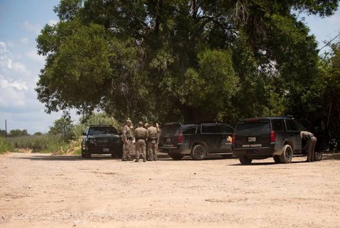 Texas DPS troopers are a constant presence in Val Verde County. - TEXAS TRIBUNE / MIGUEL GUTIERREZ JR.