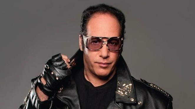 Andrew Dice Clay will perform August 12-13 at the AT&T Center's Terrace restaurant. - COURTESY PHOTO / ANDREW DICE CLAY