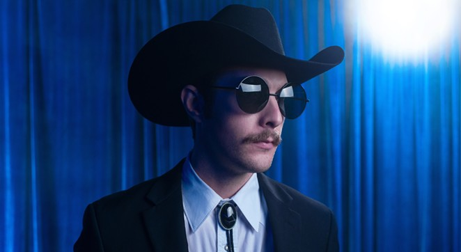 Garrett T. Capps is displaying hometown pride in the first single from his new album. - JOSH HUSKIN