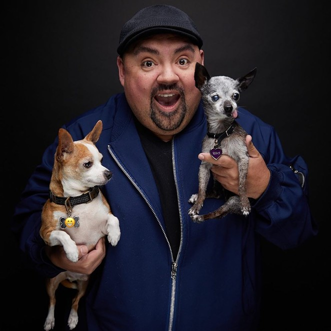 """Gabriel """"Fluffy"""" Iglesias planned to film the final two shows of his month-long San Antonio stand for a Netflix special. - INSTAGRAM / FLUFFYGUY"""