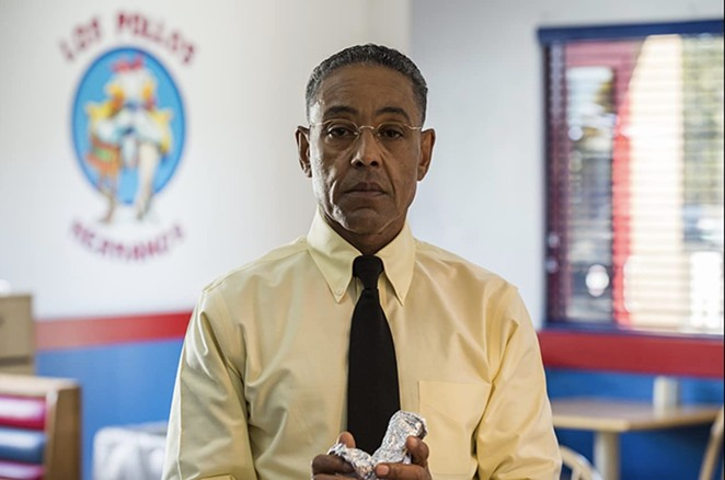 Giancarlo Esposito, who played Gus Fring in Breaking Bad and Better Call Saul, is the headliner for this year's Big Texas Comicon. - AMC