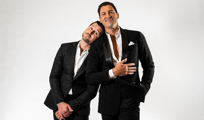 """Maks & Val's Stripped Down tour is billed as """"taking you closer to the boys than ever before."""" - COURTESY OF TOBIN CENTER FOR THE PERFORMING ARTS"""