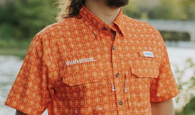 San Antonio-based Whataburger is the latest food chain to get in on the branded apparel trend. - INSTAGRAM / WHATABURGER