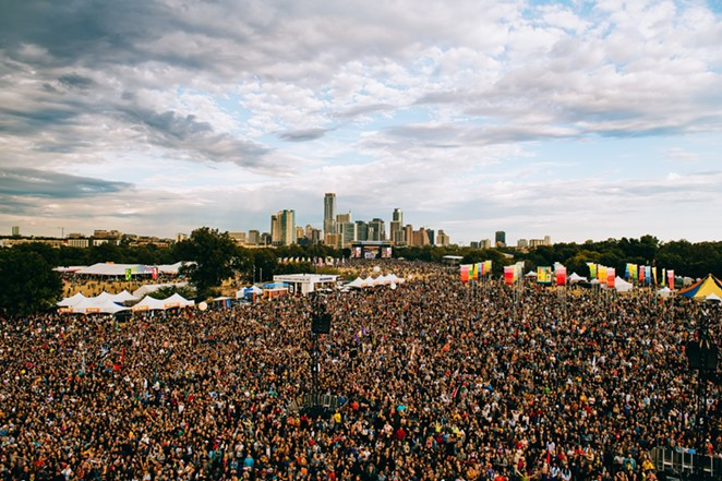 Austin City Limits announced COVID protocols for its 2021 festival on Thursday. - TWITTER / ACLFESTIVAL