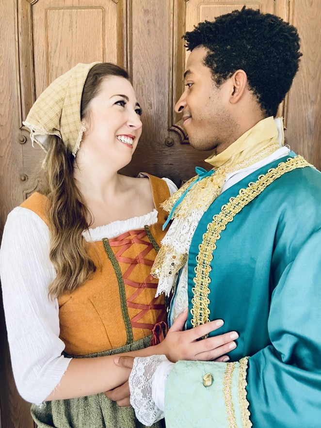 The Woodlawn's Cinderella production will feature a refreshed version of the musical with fresh characters and new twists. - COURTESY OF WOODLAWN THEATRE