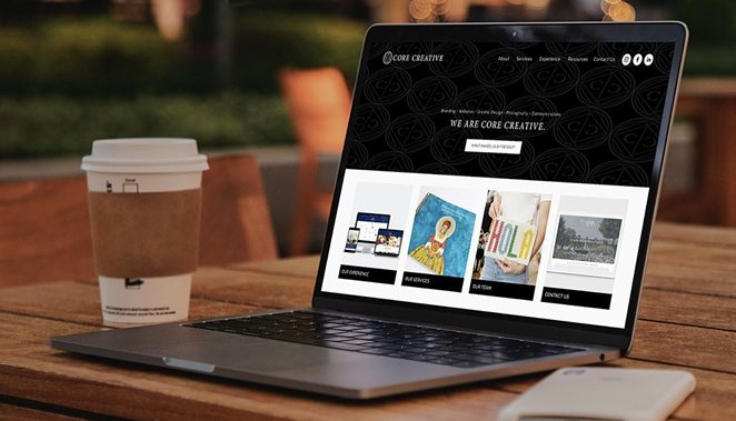 SA-based marketing firm Core Creative will gift an area non-profit a brand-new website. - INSTAGRAM / WEARECORECREATIVE
