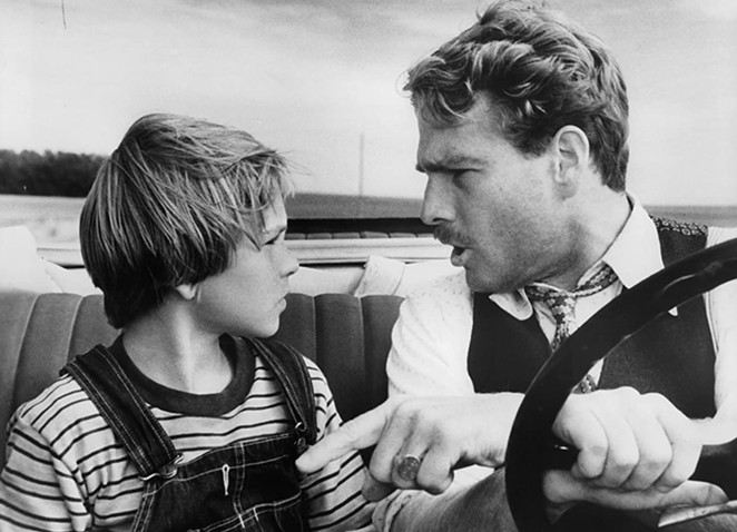 Tatum O'Neal (left) became the youngest person to win an Oscar in a competitive category for her performance in Paper Moon. - PARAMOUNT HOME VIDEO