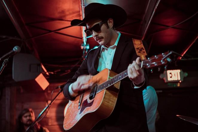 Garrett T. Capps officially debuts his new album I Love San Antone at the Paper Tiger on Friday. - COURTESY PHOTO / GARRETT T. CAPPS