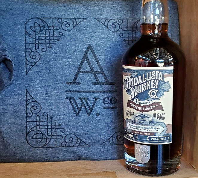 The Andalusia Whiskey Co. Bottled in Bond Single Malt. - PHOTO COURTESY ANDALUSIA WHISKEY CO.