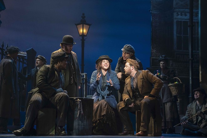 The Lincoln Center Theater's revival of Lerner and Loewe's My Fair Lady comes to the Majestic Theatre on September 21. - COURTESY OF BROADWAY IN SAN ANTONIO