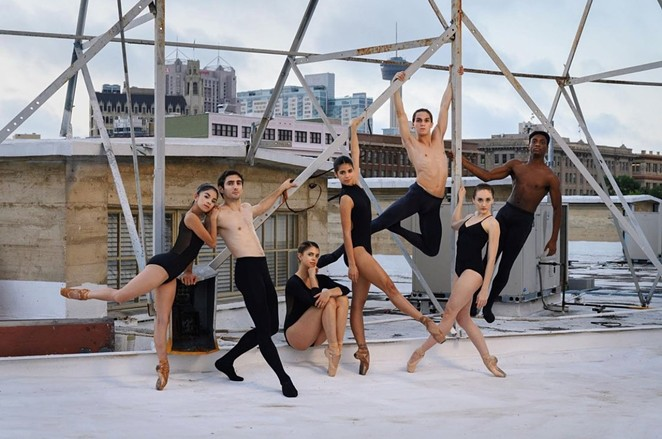 Ballet San Antonio troupe members will preview what's to come in their 2021-2022 season at the free event in Travis Park. - DAVID TERAN