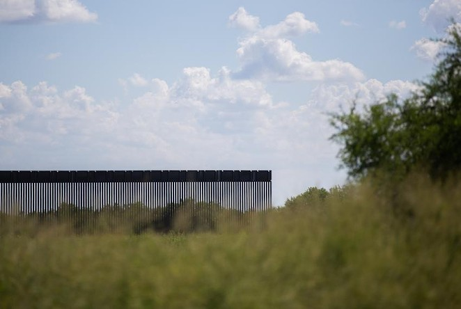 The Texas Facilities Commission has awarded a contract to oversee additional wall construction on the Texas-Mexico border. - TEXAS TRIBUNE / EDDIE GASPAR