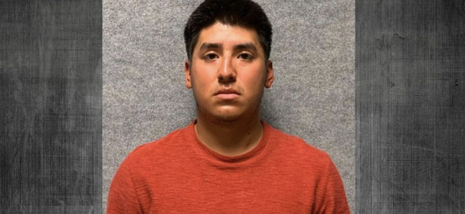 Andrew Alexander Pantaleon, 24, has been charged with aggravated assault with a deadly weapon, according to news reports. - INSTAGRAM / SANANTONIOPD