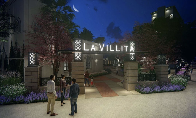 Renderings from landscape architecture firm MP Studio show future La Villita plans. - INSTAGRAM / MPSTUD.IO