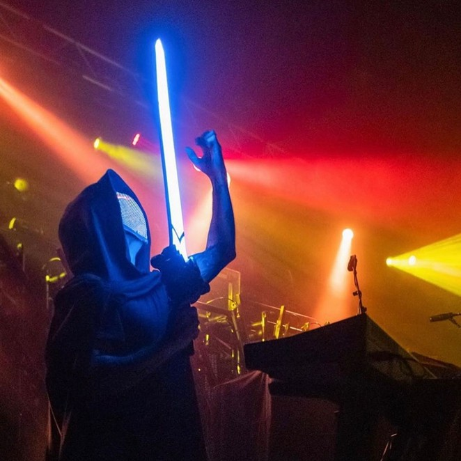 Synthwave act Magic Sword shares the bill with Avatar and Tallah on Wednesday at the Aztec Theatre. - INSTAGRAM / MAGICSWORDMUSIC