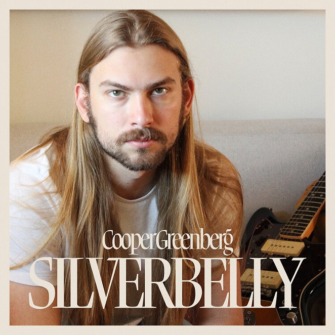 """Cooper Greenberg's new album """"Silverbelly"""" has countrish inflections, but it's more of a solid indie-rock record."""