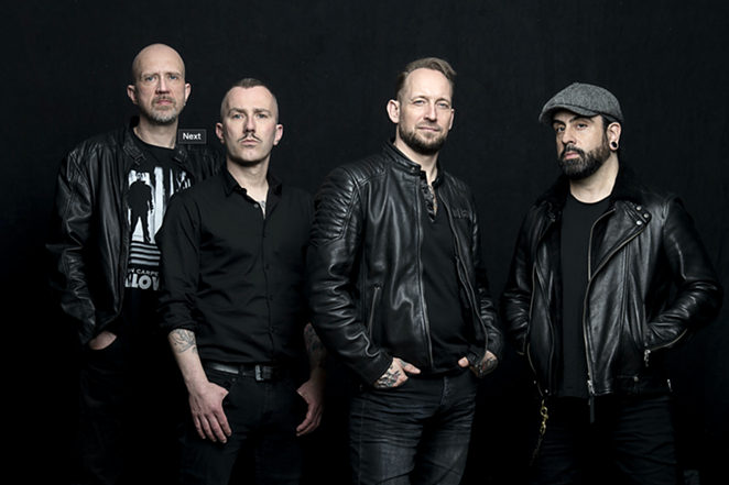 Volbeat's new U.S. tour, which stops Tuesday in San Antonio, includes its first live performances in two years. - COURTESY PHOTO / VOLBEAT.