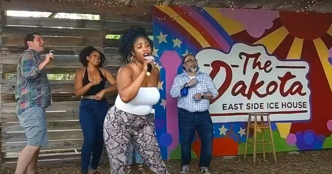 Dakota East Side Ice House is hosting weekly CARE-E-oke Brunch, benefitting Travis Park Church. - FACEBOOK / EHCÜ PUBLIC RELATIONS