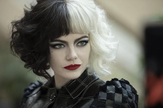 Emma Stone stars as Cruella in Disney's prequel film chronicling the villain's origin story. - WALT DISNEY ENTERTAINMENT