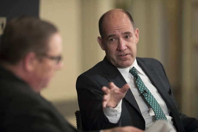 Matthew Dowd, a former political strategist for President George W. Bush, announced he'll run for lieutenant governor as a Democrat. Dowd has also worked for Democrats, including late Lt. Gov. Bob Bullock. - TEXAS TRIBUNE / BOB DAEMMRICH