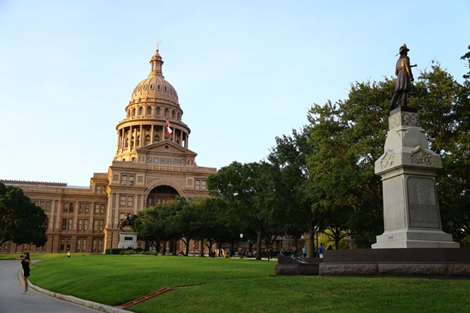 The Republican-controlled Texas Lege is drawing up new voting maps aimed at shoring up the party's power in the state. - WIKIMEDIA COMMONS / CHMORICH