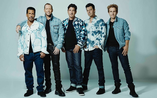 New Kids on the Block bring back their Mixtape 2022 for a hefty dose of pop nostalgia. - AUSTIN HARGRAVE