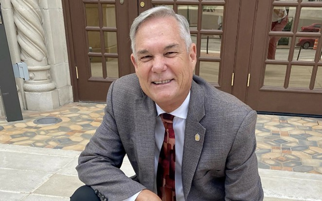While Councilman Clayton Perry has voted against plenty of resolutions, his record shows he's not universally opposed to them. - FACEBOOK / DISTRICT 10 COUNCILMAN CLAYTON PERRY