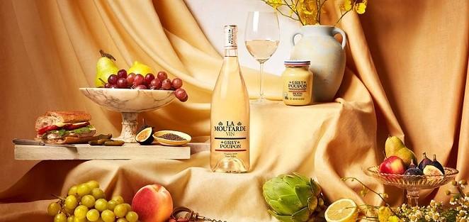Forget mustard as a condiment — Heinz is making mustard wine now. - PHOTO COURTESY KRAFT HEINZ