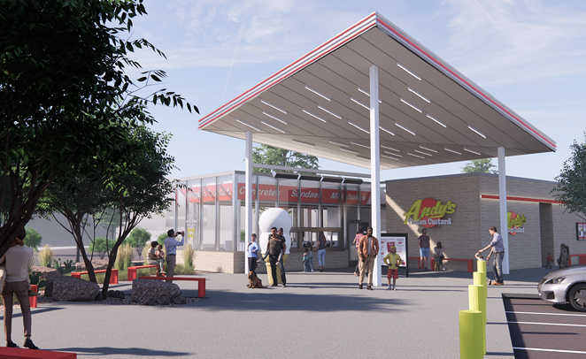 Andy's Frozen Custard will make its San Antonio debut in the spring. - PHOTO COURTESY ANDY'S FROZEN CUSTARD