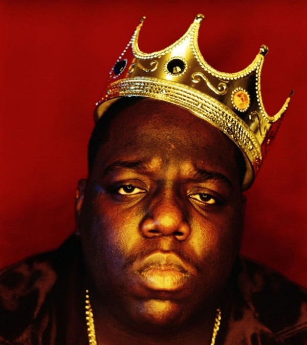 Biggie Smalls: the once and future king of rap. - PHOTO BY BARRON CLAIBORNE (FROM THESOURCE.COM)