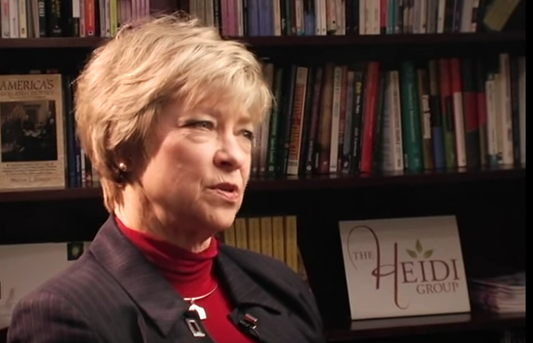 Carol Everett, director of the Heidi Group - YOUTUBE VIA FACINGLIFEHEADON