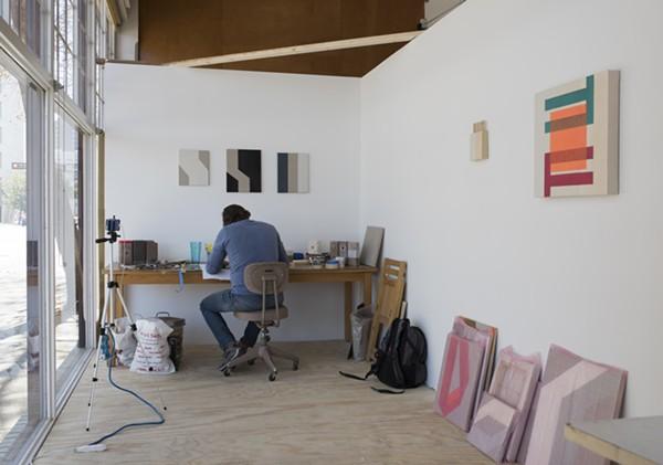 "Benjamin McVey, ""Open,"" originally commissioned and produced by Artpace San Antonio - ADAM SCHREIBER"