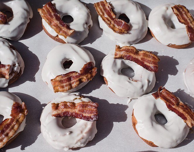 We're not going to lie — maple bacon is worth the extra calories. -  FACEBOOK/ESTATE COFFEE CO.