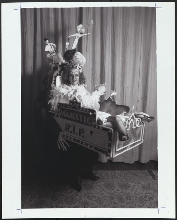 Gretchen Shoopman as Empress of the Song of No Way, 1987 (photo by Ruben Njaa)